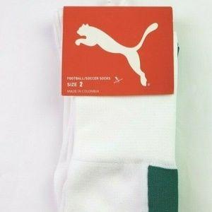 Puma Football Soccer Socks Size 3.5 - 6 US
